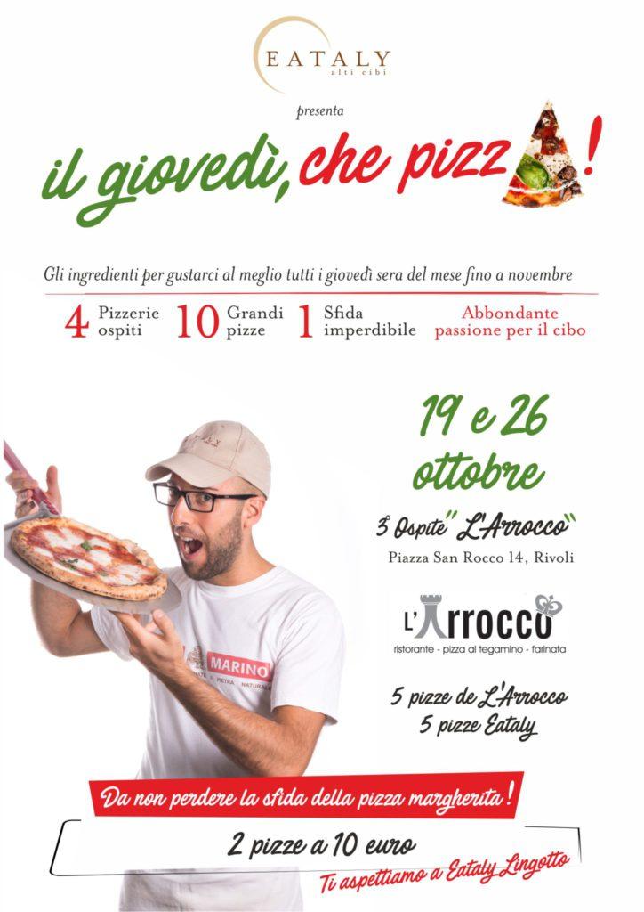 A4 giovedì che pizza 19 ottobre per esterni